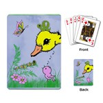 Duck, bird, butterfly, worm - Easter Basket Cards - Playing Cards Single Design (Rectangle)