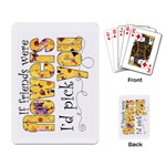 Friendship Playing Cards Copy Me - Playing Cards Single Design