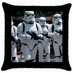 Storm Trooper Throw Pillow - Throw Pillow Case (Black)