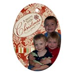 2009 ornament - Ornament (Oval)
