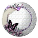 butterfly - Magnet 5  (Round)
