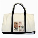 Tote with my Kiddies - Two Tone Tote Bag