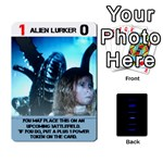 ALIENS: THIS TIME IT S WAR PT2 - Playing Cards 54 Designs (Rectangle)