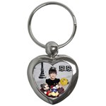 mom key - Key Chain (Heart)