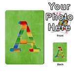 flash cards abc - Multi-purpose Cards (Rectangle)