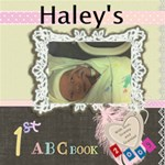 haley s abc book 2009 to print - ScrapBook Page 12  x 12