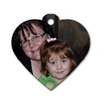 gramdma inez - Dog Tag Heart (Two Sides)