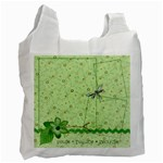Green Bag, 1 side (3) - Recycle Bag (One Side)
