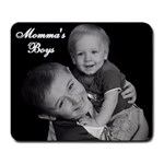 momma s boys mousepad - Large Mousepad