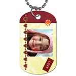 Sage - for MawMaw & PopPop - Dog Tag (One Side)