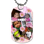 Annie - Dog Tag (One Side)