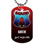 Krum - Dog Tag (One Side)