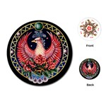 Zodiac Scorpio Playing Cards - Playing Cards Single Design (Round)