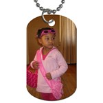 The Diva Ready to Roll  - Dog Tag (One Side)