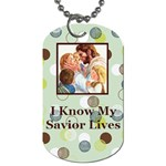 Primary theme 2010 dogtag #4 - Dog Tag (One Side)
