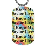 Primary tyedie 2010 dogtag  - Dog Tag (One Side)