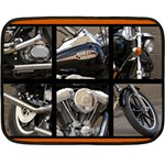 harley blanket - Double Sided Fleece Blanket (Mini)