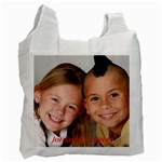 Reusable shopping bags. - Recycle Bag (Two Side)