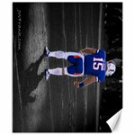 Tebow s Last Home Game - Canvas 8  x 10