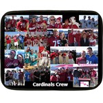 Cardinals Blanket - Double Sided Fleece Blanket (Mini)