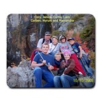 miller family mousepad from October 2009 - Large Mousepad