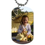 Charley s Dog Tag - Dog Tag (One Side)