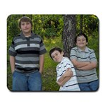 pipes boys - Large Mousepad