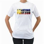 LP T-Shirt - Women s T-Shirt (White) (Two Sided)