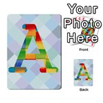 ABC Flash Cards - Multi-purpose Cards (Rectangle)