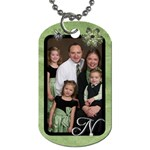 Family Luggage Tags - Dog Tag (Two Sides)
