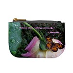 Weathered Rose - Aristotle  - Mini Coin Purse