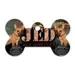 JedTag - Dog Tag Bone (Two Sides)