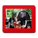 Kids at Wilson s - Large Mousepad