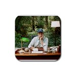 Mike Rowe At  Work  - COASTER - Rubber Coaster (Square)