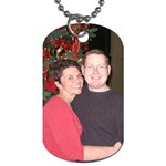 mike and Kendra - Dog Tag (Two Sides)