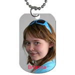 Brianna - Dog Tag (Two Sides)