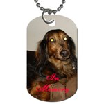 in memory of rufus - Dog Tag (Two Sides)