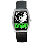 Breton Bears Women Watch  - Barrel Style Metal Watch
