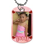Ishi s dog tag - Dog Tag (Two Sides)