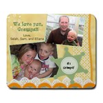 grampa s father s day - Large Mousepad