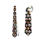 poka dot tie - Necktie (Two Side)