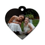 New one - Dog Tag Heart (Two Sides)