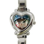 Noah watch - Heart Italian Charm Watch