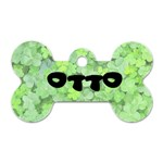 Otto name tag - Dog Tag Bone (Two Sides)