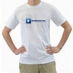 T-Shirt Geekbecois - Men s T-Shirt (White) (Two Sided)