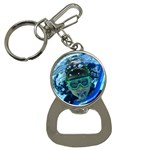 Chris underwater - Bottle Opener Key Chain