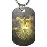 Buddy on the tag - Dog Tag (Two Sides)