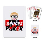 Deuces Poker Playing Cards Now available - Playing Cards Single Design (Rectangle)