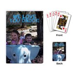 Daddy cards - Playing Cards Single Design