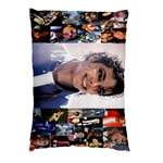 Straight Edged Photo-MJ - Pillow Case